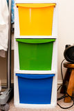 Cajones del almacenamiento Imagen de archivo libre de regalías