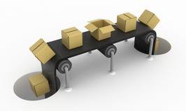 Cajones del transportador de los agujeros Imágenes de archivo libres de regalías
