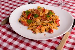Cajun jambalaya Royalty Free Stock Photography