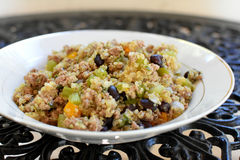 Cajun-Quinoa stockfotos