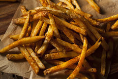 Cajun Seasoned French Fries Stock Photography