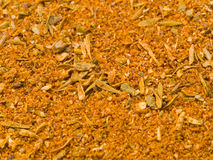 Cajun Seasoning Background Stock Photo