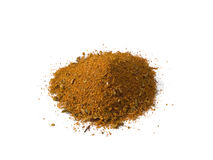 Cajun Seasoning Pile Isolated Royalty Free Stock Photography
