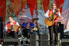 Cajun Stompers Band Stock Images