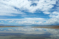 Caka Salt Lake Zdjęcia Stock