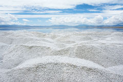 Caka Salt Lake Stock Photo