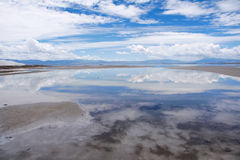Caka Salt Lake Stock Photography