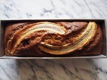 Cake à la banane Photo libre de droits
