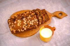 Cake à la banane Image libre de droits