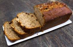 Cake à la banane image stock