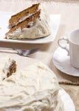 Cake 006 van de wortel Royalty-vrije Stock Foto