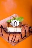 Cake. Beautiful tasty cake close up shoot Stock Photos