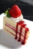 Cake 3. Strawberry cake in food studio stock photos