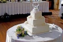Cake 3 van het huwelijk Stock Afbeeldingen