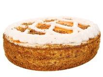 Cake. Tasty Cake for holidays on white Royalty Free Stock Photos