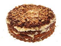 Cake. Tasty Cake for holidays on white Stock Photography