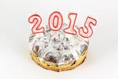 2015 Cake Royalty-vrije Stock Afbeelding
