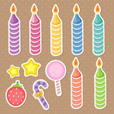 Cake accessories Stock Photography