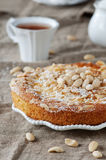 Cake with almonds Stock Photo