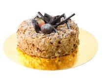 Cake with almonds Stock Photos