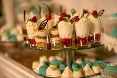 Cake ans pastries Stock Image