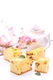 Cake with apples Stock Photography