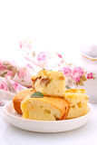 Cake with apples Royalty Free Stock Image