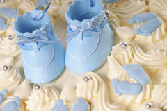 Cake for a baby Royalty Free Stock Images