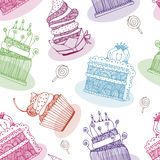 Cake  background Stock Photo