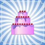 Cake background Royalty Free Stock Images