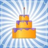 Cake background Stock Image
