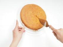 Cake baker Stock Images