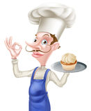 Cake Baker Perfect Sign Royalty Free Stock Image
