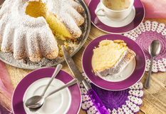 Cake baking baked food dough sweets dessert coffee royalty free stock photo