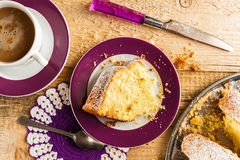 Cake baking food dough sweets dessert coffee royalty free stock image