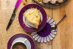 Cake baking food dough sweets dessert coffee royalty free stock photos