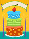 Cake Banner Stock Photos