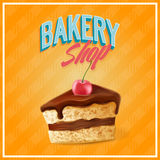 CAKE BANNER Royalty Free Stock Images