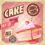 CAKE BANNER Royalty Free Stock Photography