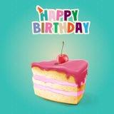 CAKE BANNER Royalty Free Stock Image