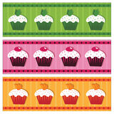 Cake banners Royalty Free Stock Image