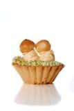 Cake basket with cream Stock Photo
