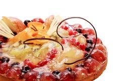 Cake with berries Stock Photos