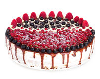Cake with Berries Royalty Free Stock Image