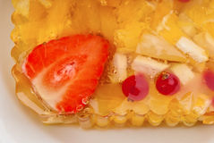 Cake with berryes Royalty Free Stock Images