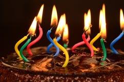Cake, Birthday Cake, Light, Dessert Stock Photos