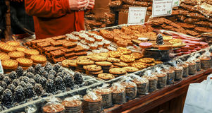 Cake And Biscuits Royalty Free Stock Image