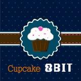 Cake 8 bit Stock Photo
