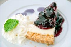 Cake blueberry Stock Image