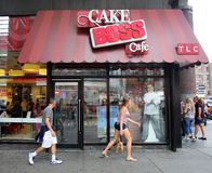 THE CAKE BOSS CAFE Royalty Free Stock Image